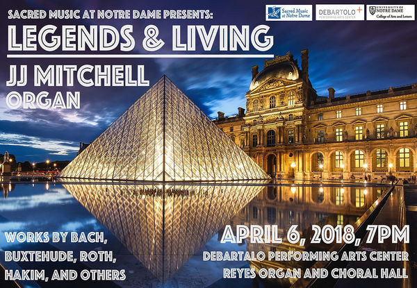 Jj Mitchell Legends And Living Recital Poster 3